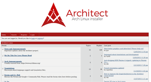 Architect forums